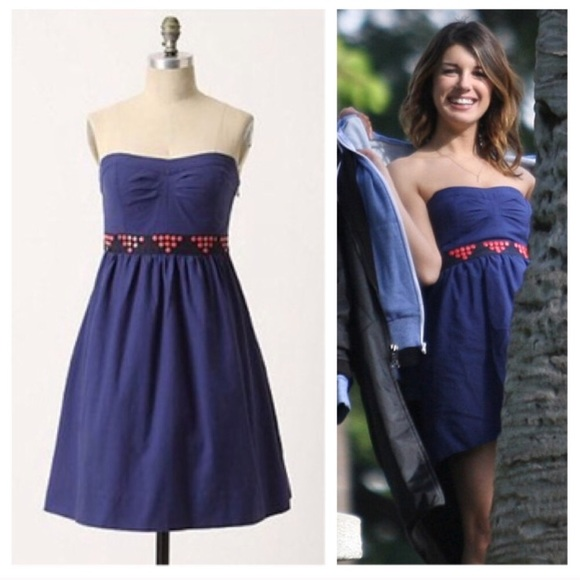 d6d53150c2176 Anthropologie Dresses | Floreat Royal Blue Fairy Cake Dress | Poshmark